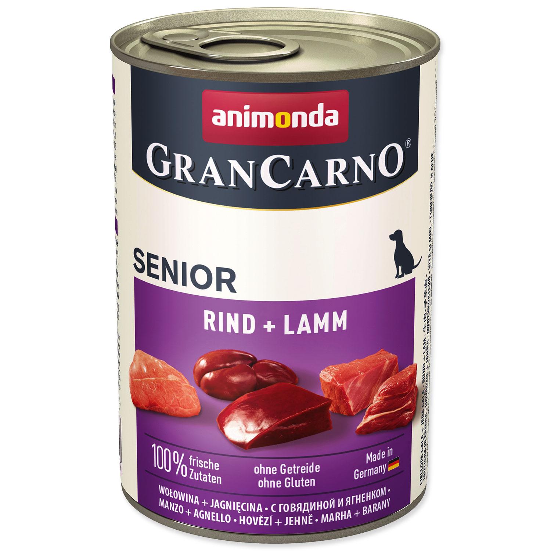 Konzerva ANIMONDA Gran Carno Senior hovězí + jehně