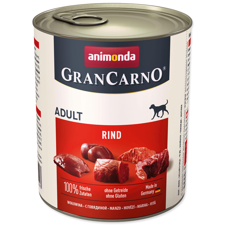 Konzerva ANIMONDA Gran Carno hovězí