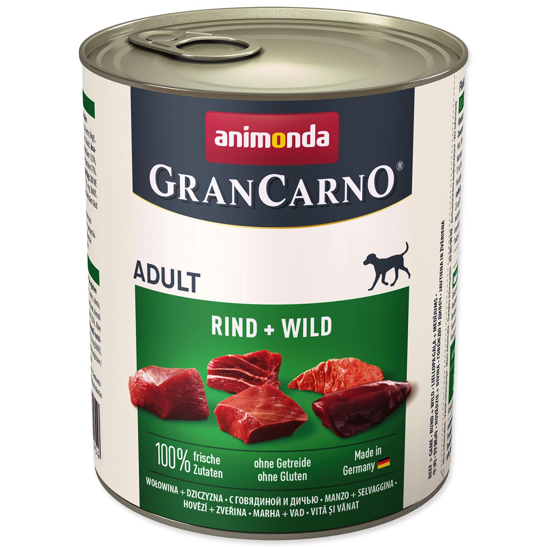 Konzerva ANIMONDA Gran Carno hovězí + zvěřina
