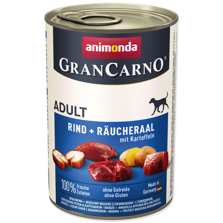 Konzerva ANIMONDA Gran Carno hovězí + úhoř + brambory