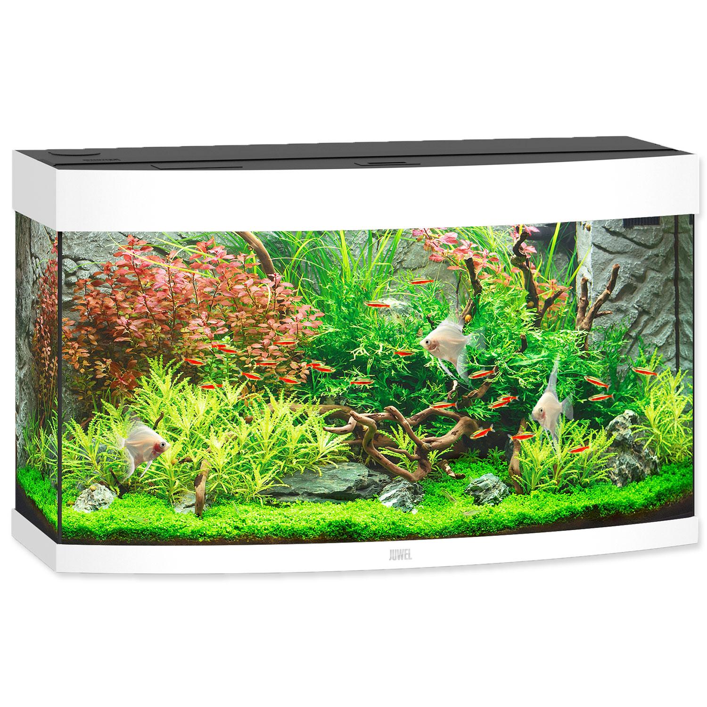 Akvárium set JUWEL Vision LED 180 bílé
