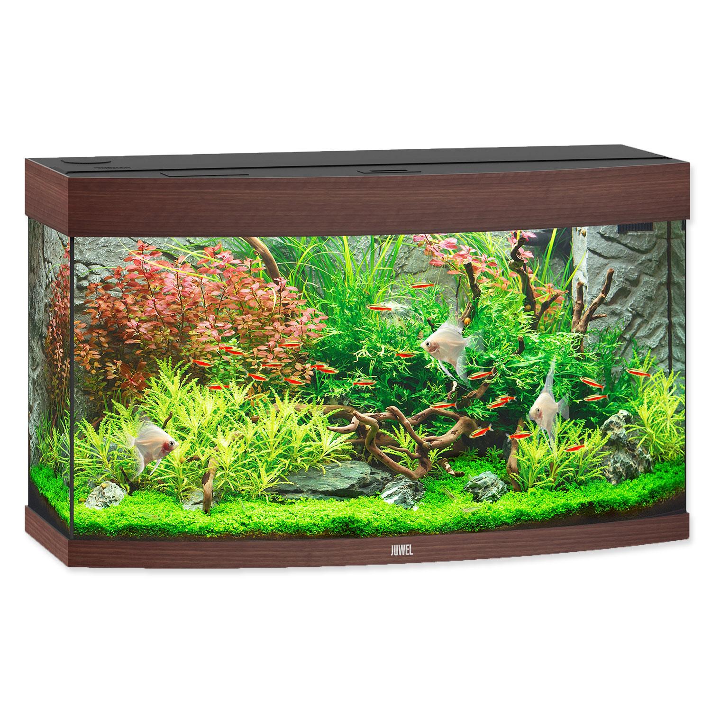 Akvárium set JUWEL Vision LED 180 tmavě hnědé