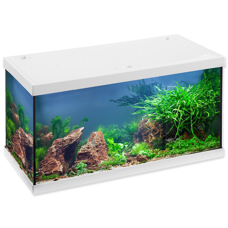 Akvárium set EHEIM Aquastar LED bílé