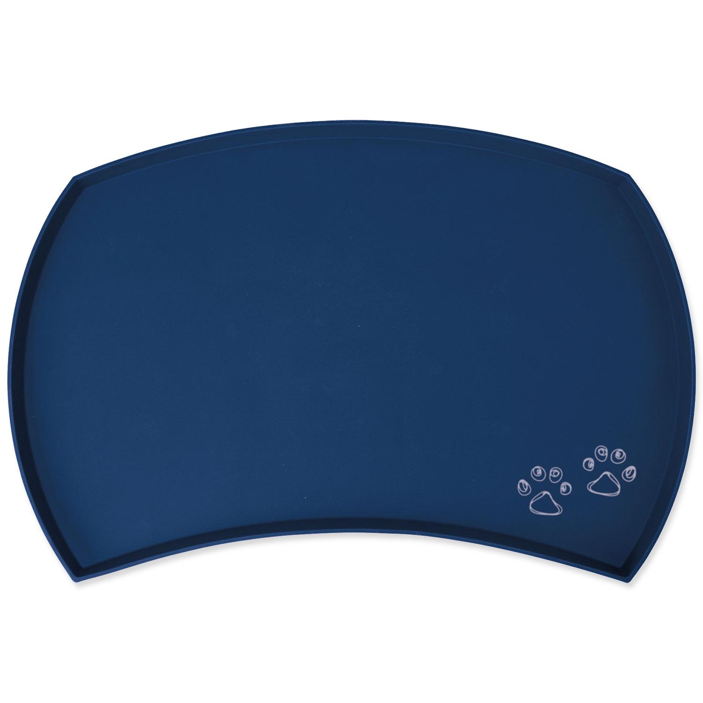 Podložka pod misku silikonová modrá 48 cm