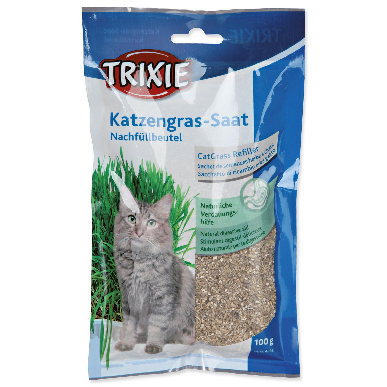 Tráva pro kočky TRIXIE v sáčku 100g