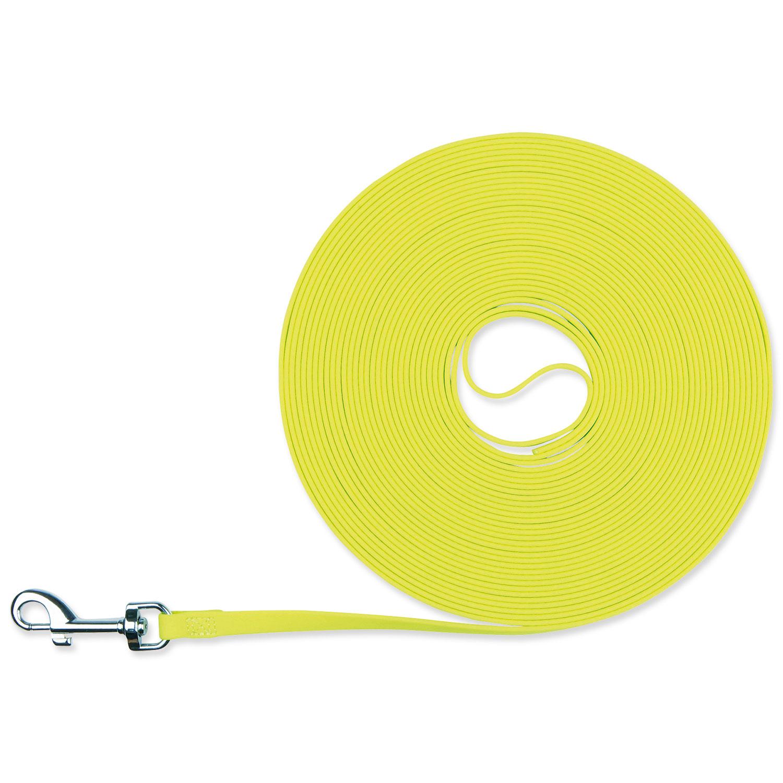 Vodítko TRIXIE Easy Life Tracking neonově žluté 12,5 m
