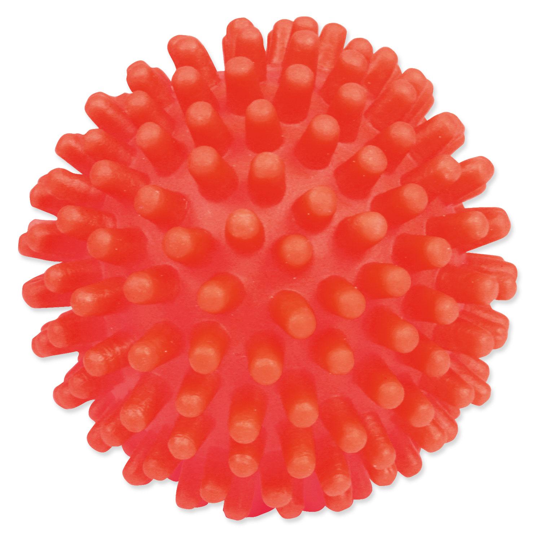 Hračka TRIXIE míček s bodlinkami vinylový 7 cm