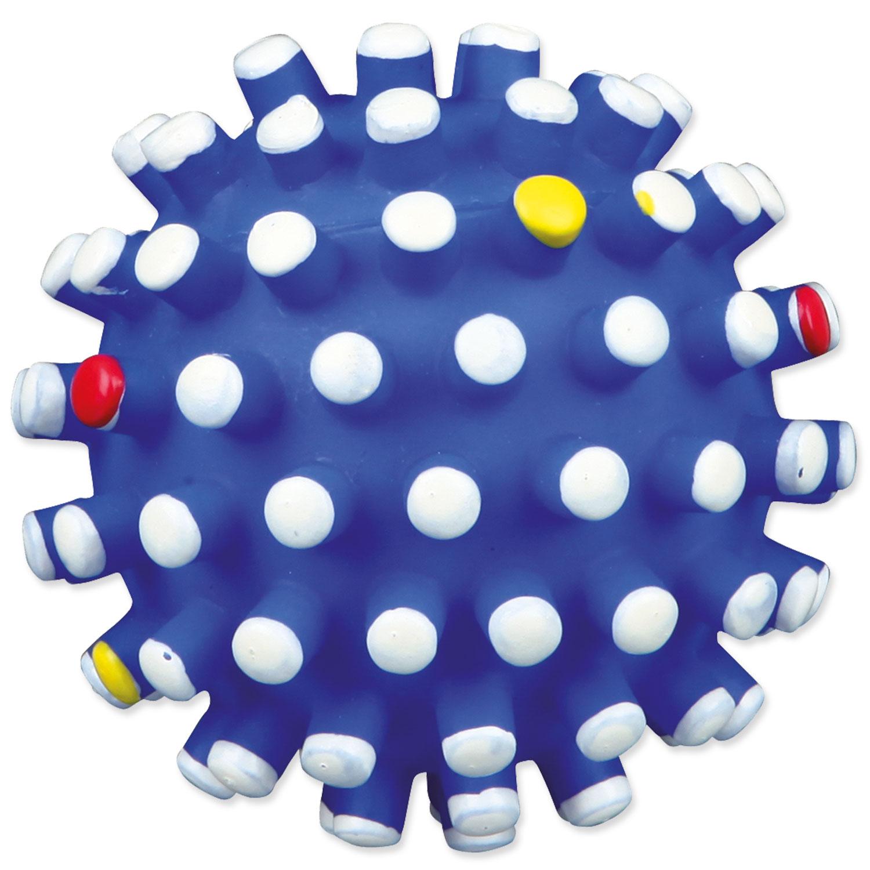 Hračka TRIXIE míček s bodlinami vinylový 10 cm