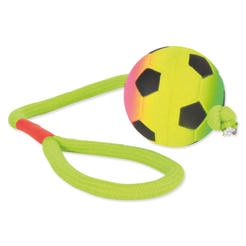 Hračka TRIXIE míček neonový na provaze 30 cm