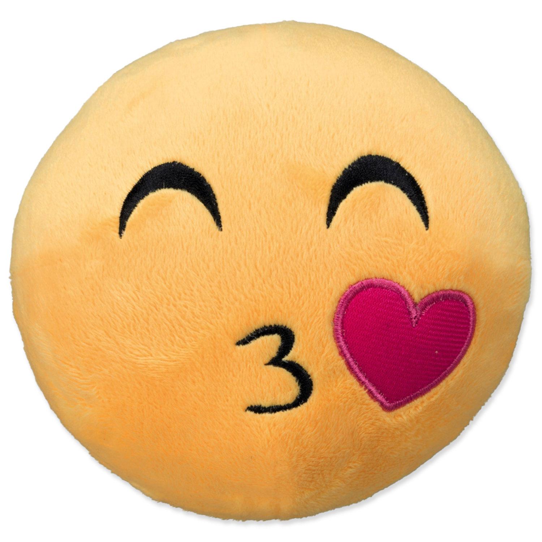 Hračka TRIXIE smajlík Kissing plyšový 14 cm