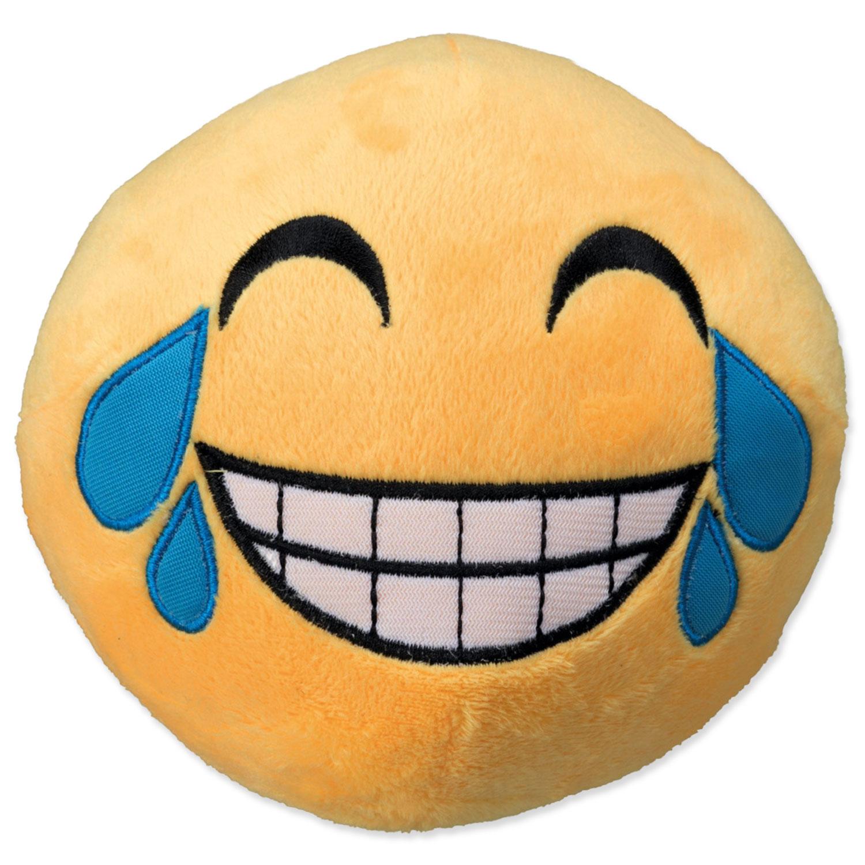 Hračka TRIXIE smajlík Laughing plyšový 14 cm