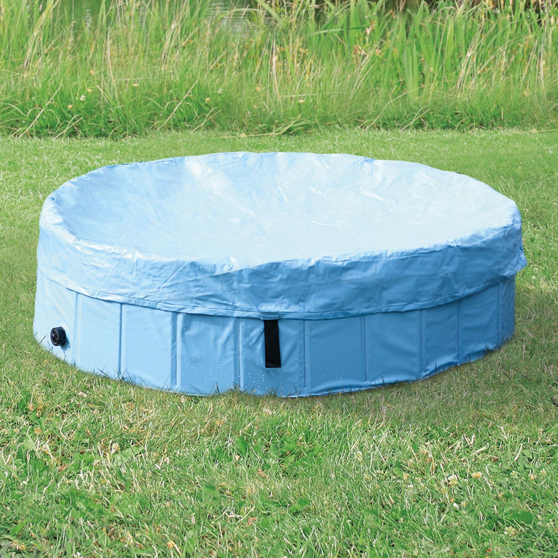 Plachta TRIXIE na bazén světle modrá 160 cm
